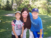 Jonathan/Andre & Mom first day of school 2011