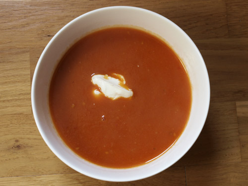 Farmersgirl Kitchen: Double Bubble Easy Tomato Soup!