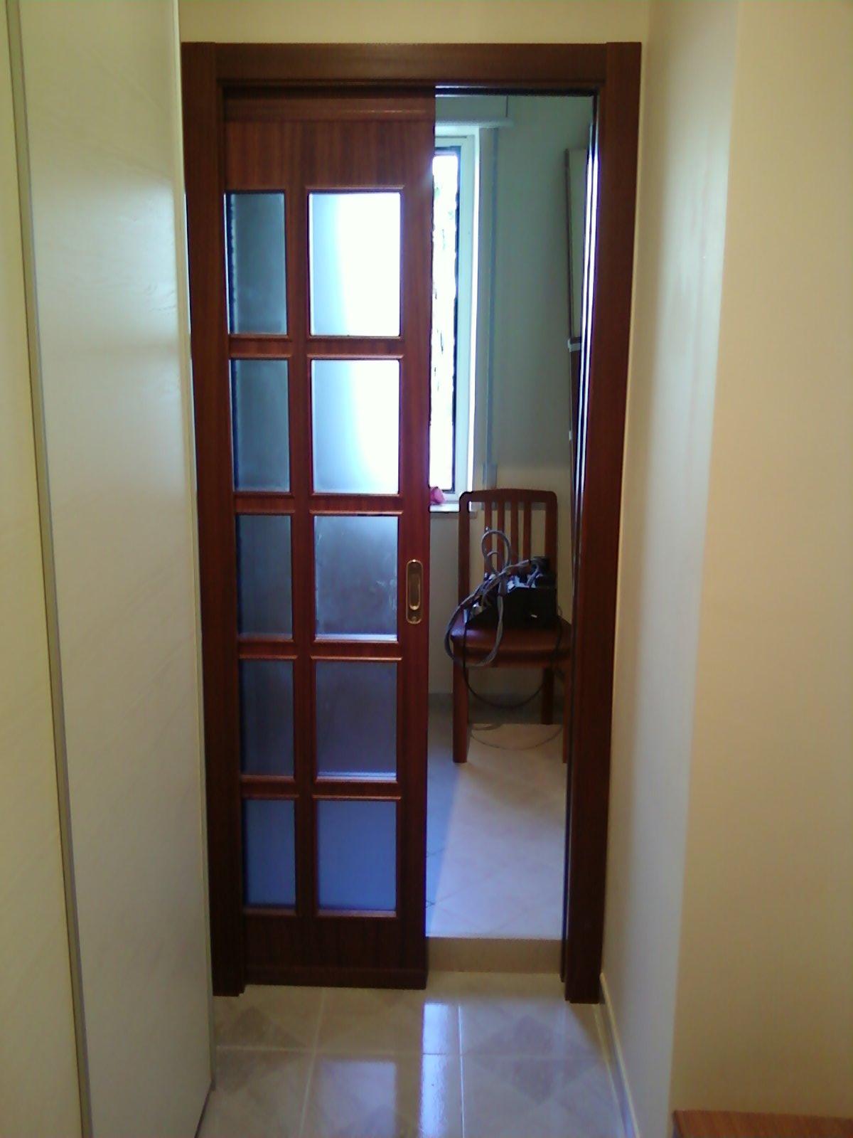 Fai da te hobby legno porta scorrevole - Porta scorrevole fai da te ...