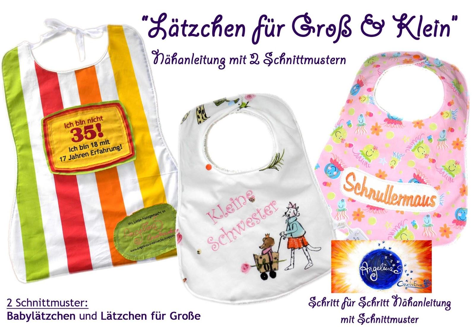 PILZKITSCH: ♥Lätzchen für groß und klein - Frösche ITH, ebenfalls ...