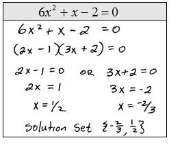 solving equations by factoring. Black Bedroom Furniture Sets. Home Design Ideas