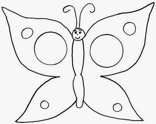 Butterflies for Coloring, part 1