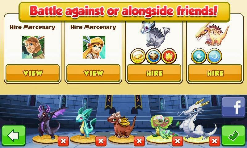 Android Games Dragon Mania Offline Asik - 4