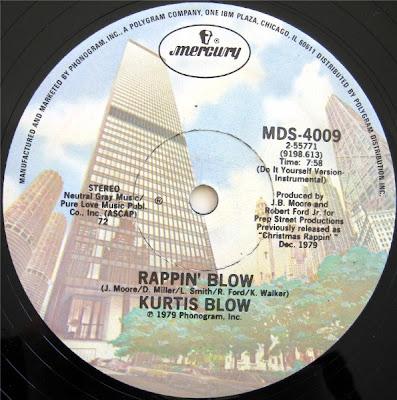 Kurtis Blow - Rappin' Blow [VLS] (1979)[INFO]