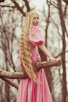 Most beautiful girls with long hair Anastasia Date