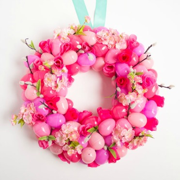The prettiest Easter wreath you'll ever make!