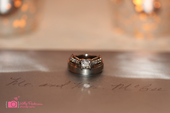 Wedding Ring Photos, Brides ring, grooms ring, brides bouquet