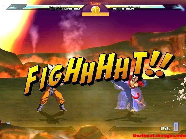 Download game Dragon Ball Z Mugen 2012 Full Offline – Bảy viên ngọc rồng cũ mà hay