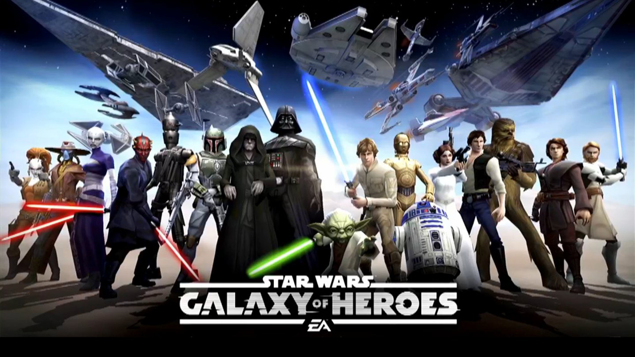 Star Wars: Galaxy of Heroes Gameplay IOS / Android