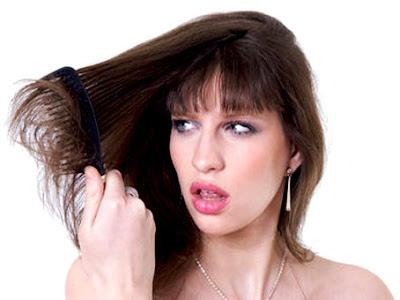 Cara Sederhana Mengatasi Rambut Kering dan Sering Rontok