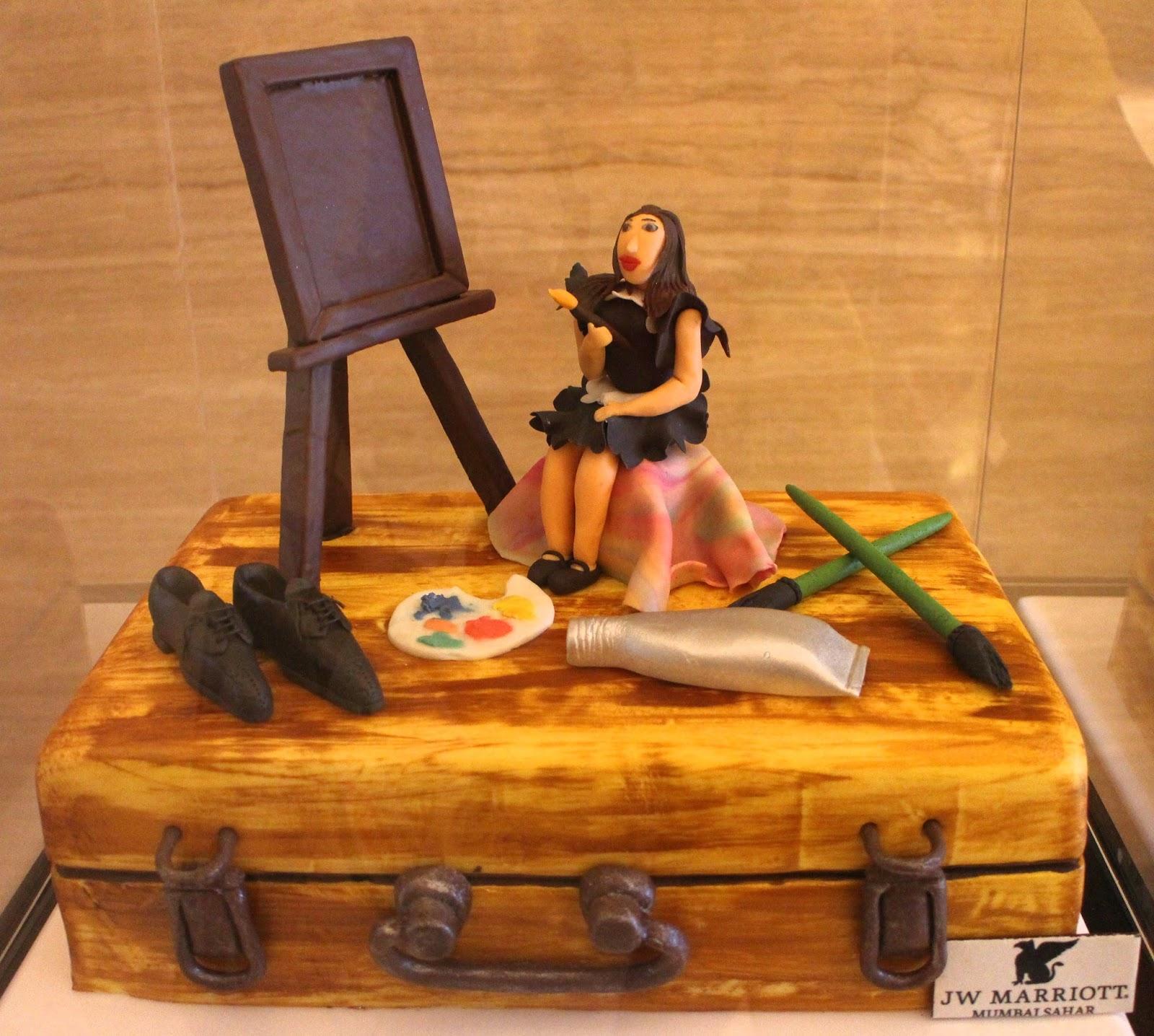 Cake Art Exhibit : My World: Cake Exhibition at J W Marriott Sahar Mumbai!!!