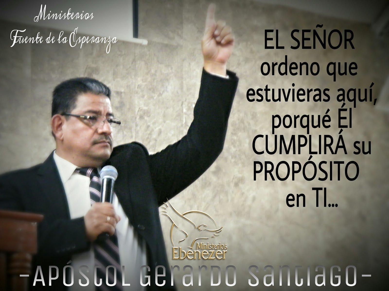 Apóstol Gerardo Santiago