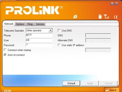 Modem Prolink