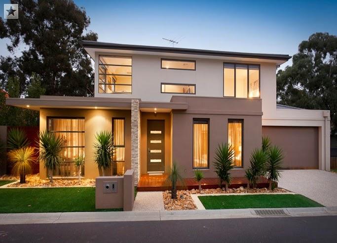 Fachadas de casas diferentes estilos abril 2015 for Casas modernas clasicas
