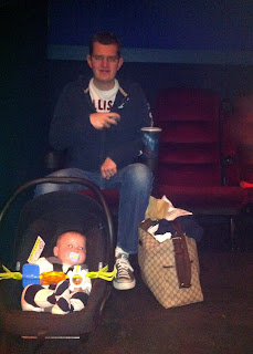 Freddie at the cinema