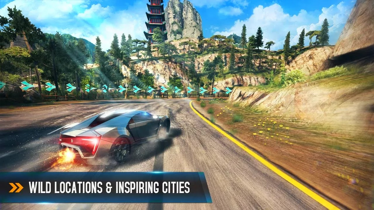 Screenshot Asphalt 8: Airborne