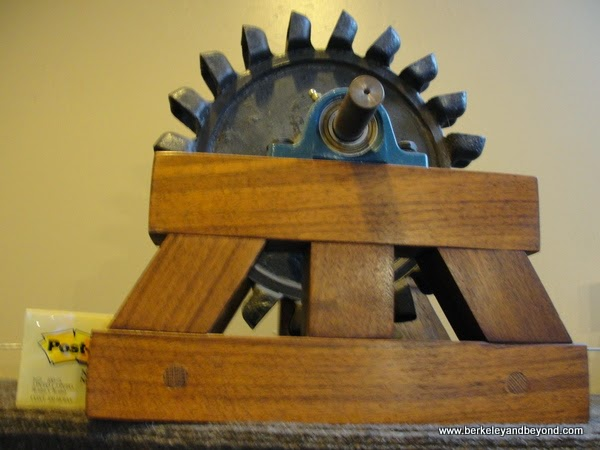 small Pelton Wheel Miners at Foundry Cultural Center in Nevada City, California