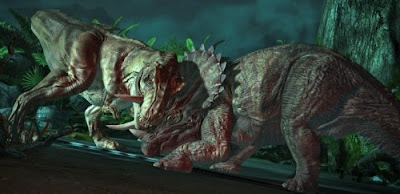 pelea de dinosaurios