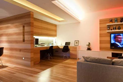apartamento madera moderno