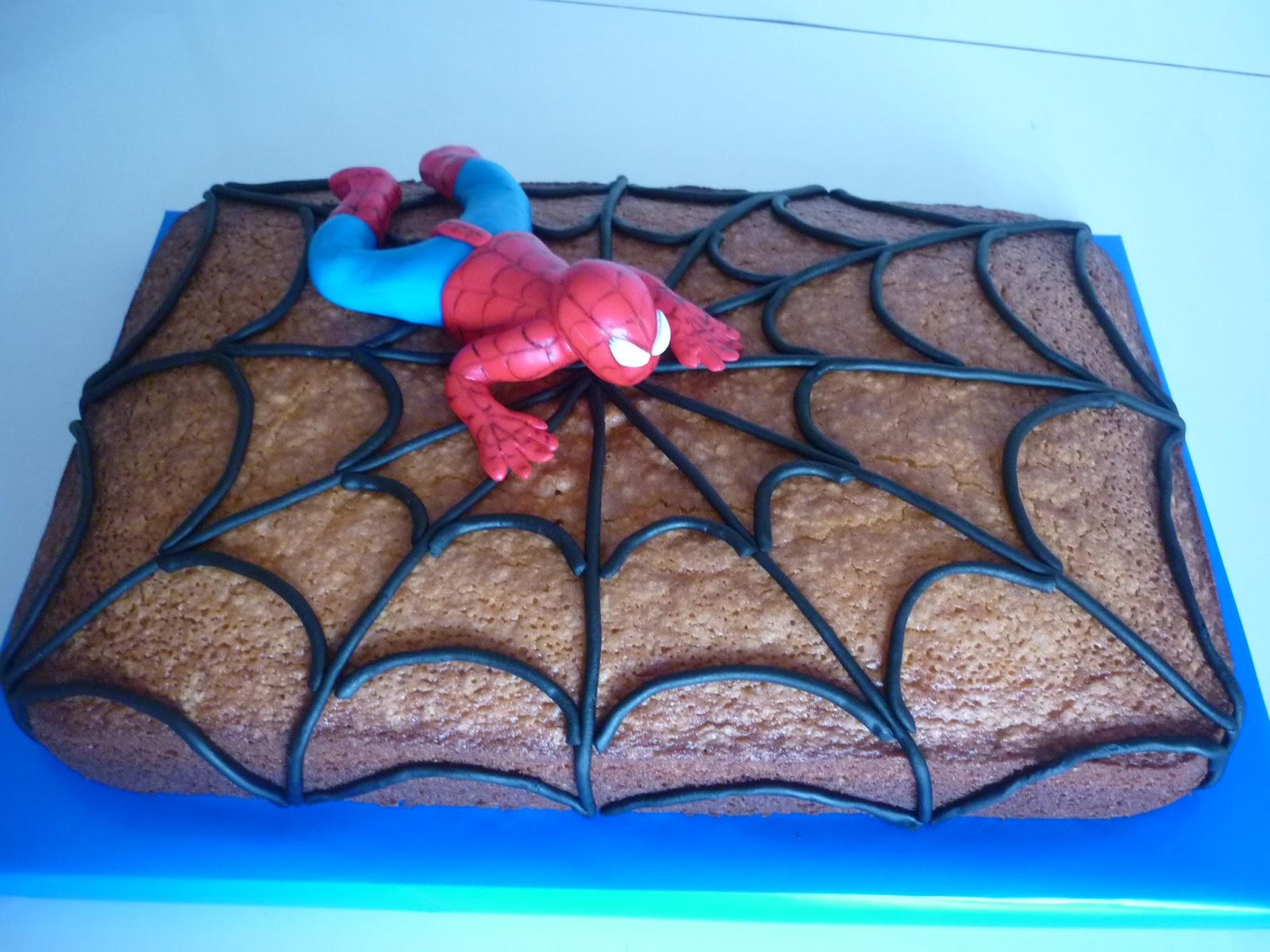 Ideiasdocinhas bolo simples homem aranha bolo simples homem aranha altavistaventures Image collections
