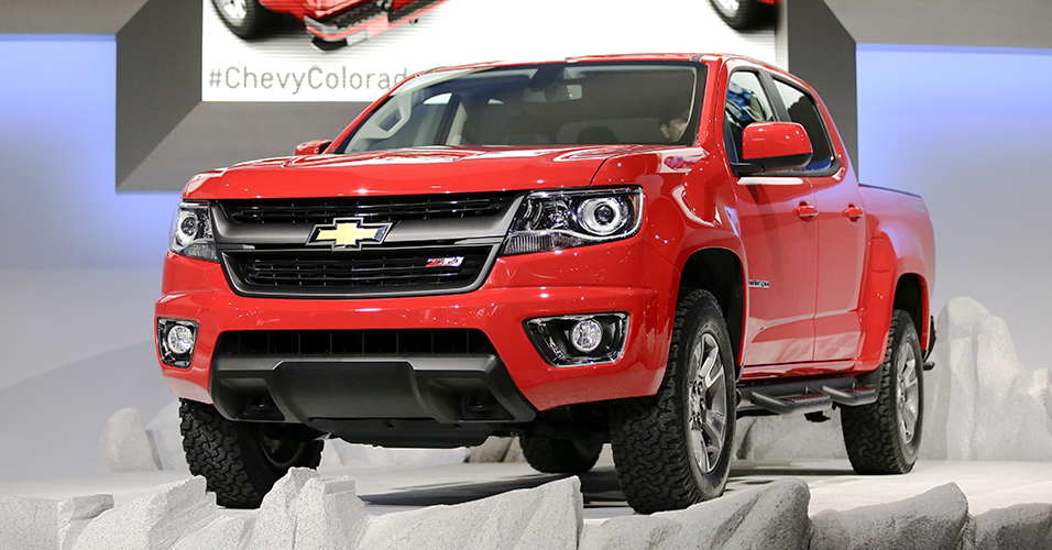 Chevrolet Colorado picape da Gm 2015