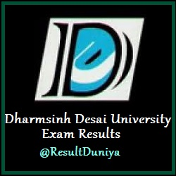 Dharmsinh Desai University Result 2015