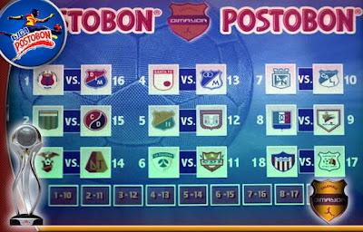 Descargar el Calendario de la Liga Postobon I 2012