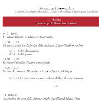 Programma: domenica 20 novembre
