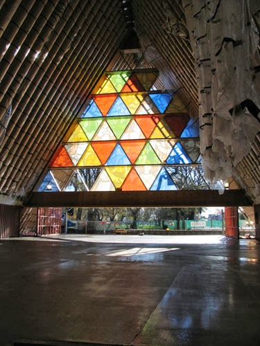 Christchurch Cardboard Cathedral by Shigeru Ban Architects