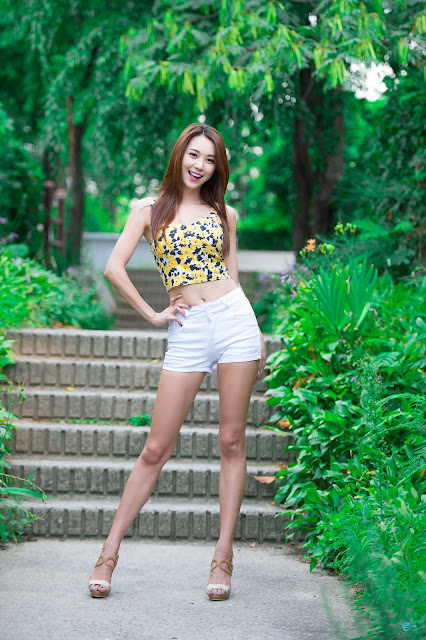 4 Lovely Ju Da Ha In Outdoor Photo Shoot - very cute asian girl-girlcute4u.blogspot.com