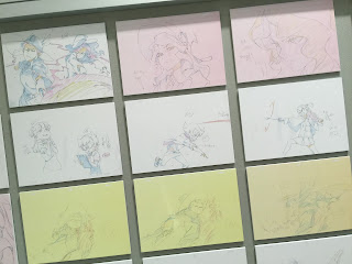 Little Witch Academia Close up Animation Key Frames