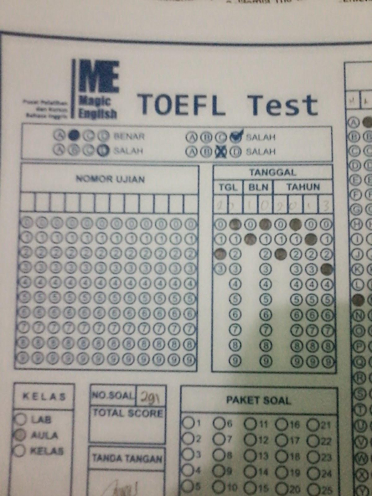 TOEFL Magic English