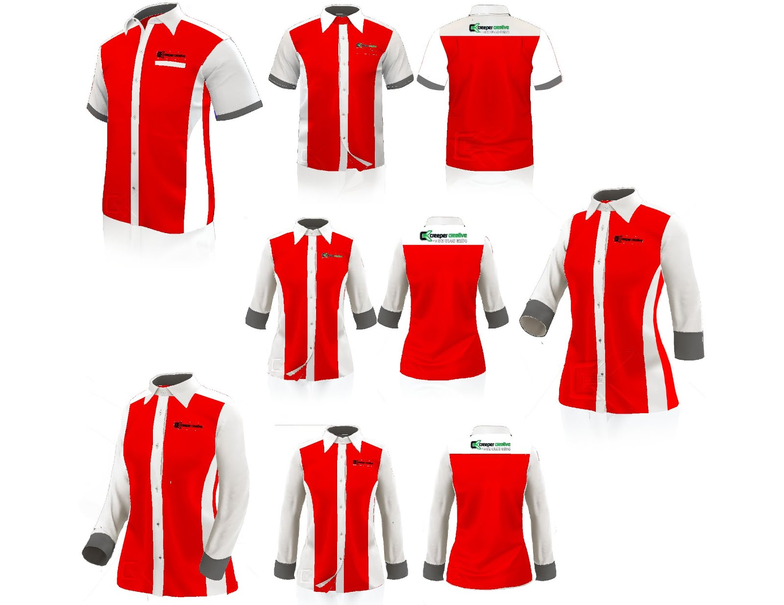 F1 Shirt Design Template Kemeja
