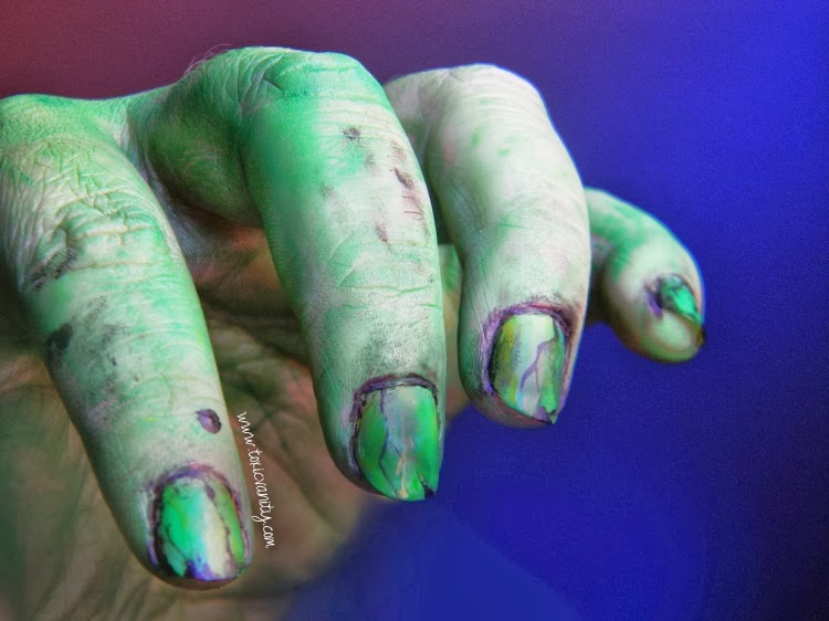 Ideas para Halloween Volumen 1 | Nail Art - Toxic Vanity