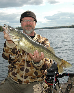 Trophy Walleye Fishing Ontario Canada