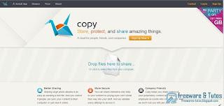 Copy : un nouveau service de cloud computing pour sauvegarder, synchroniser et partager ses fichiers