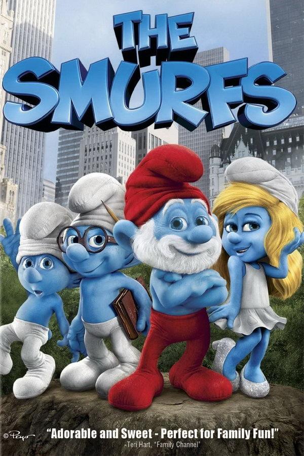 The Smurfs (2011) The-Smurfs-Poster