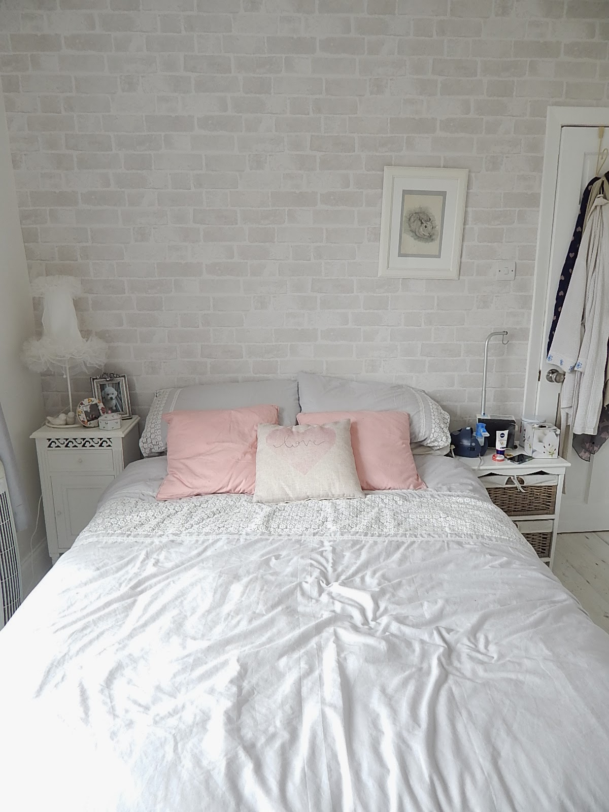 all white bedroom inspiration
