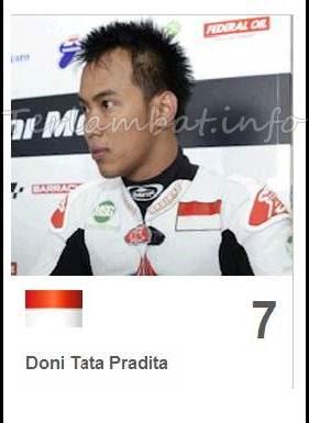 Doni tata MotoGP 2013 Indonesia