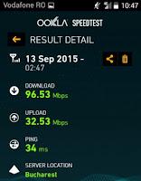 viteza supernet 4G vodafone