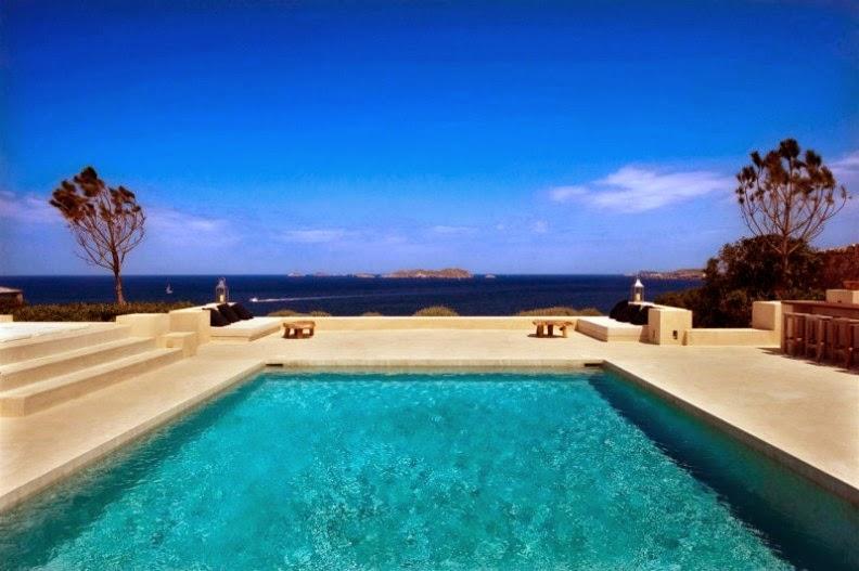 villa de lujo en Ibiza piscina