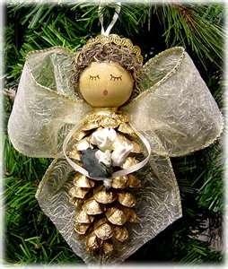 Pinhas, decoração de Natal