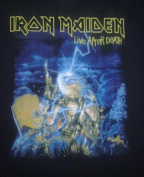 Iron Maiden - Live After Death shirt (NEW+ORI)