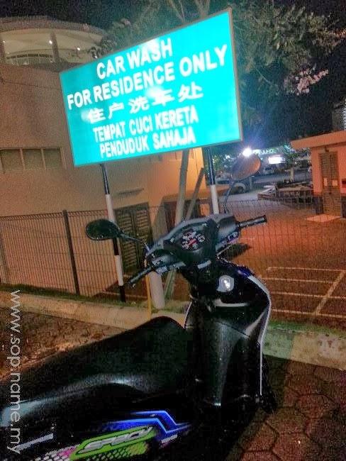 Berbaloi cuci motor dengan RM10?