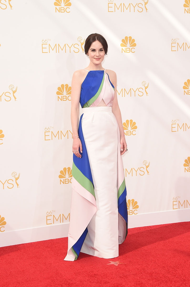 Michelle Dockery in Rosie Assoulin at the Emmy Awards