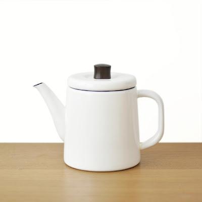 Tienda,Neëst,online,shop,Francia,natural,material,teapot,tetera,enamel,esmaltado,white,blanco,cocina,kitchen,Noda Horo,Japan