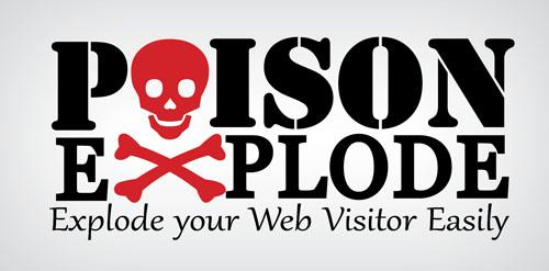 Logo Poison Explode
