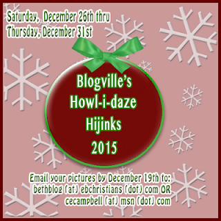 Badge for Blogville Howl-i-daze Hijinks