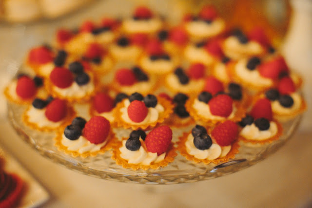Minneapolis Wedding Fresh Fruit Tartlets