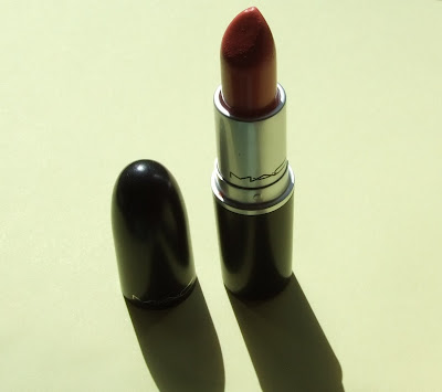 MAC Coral Bliss Lipstick swatch review beauty blog
